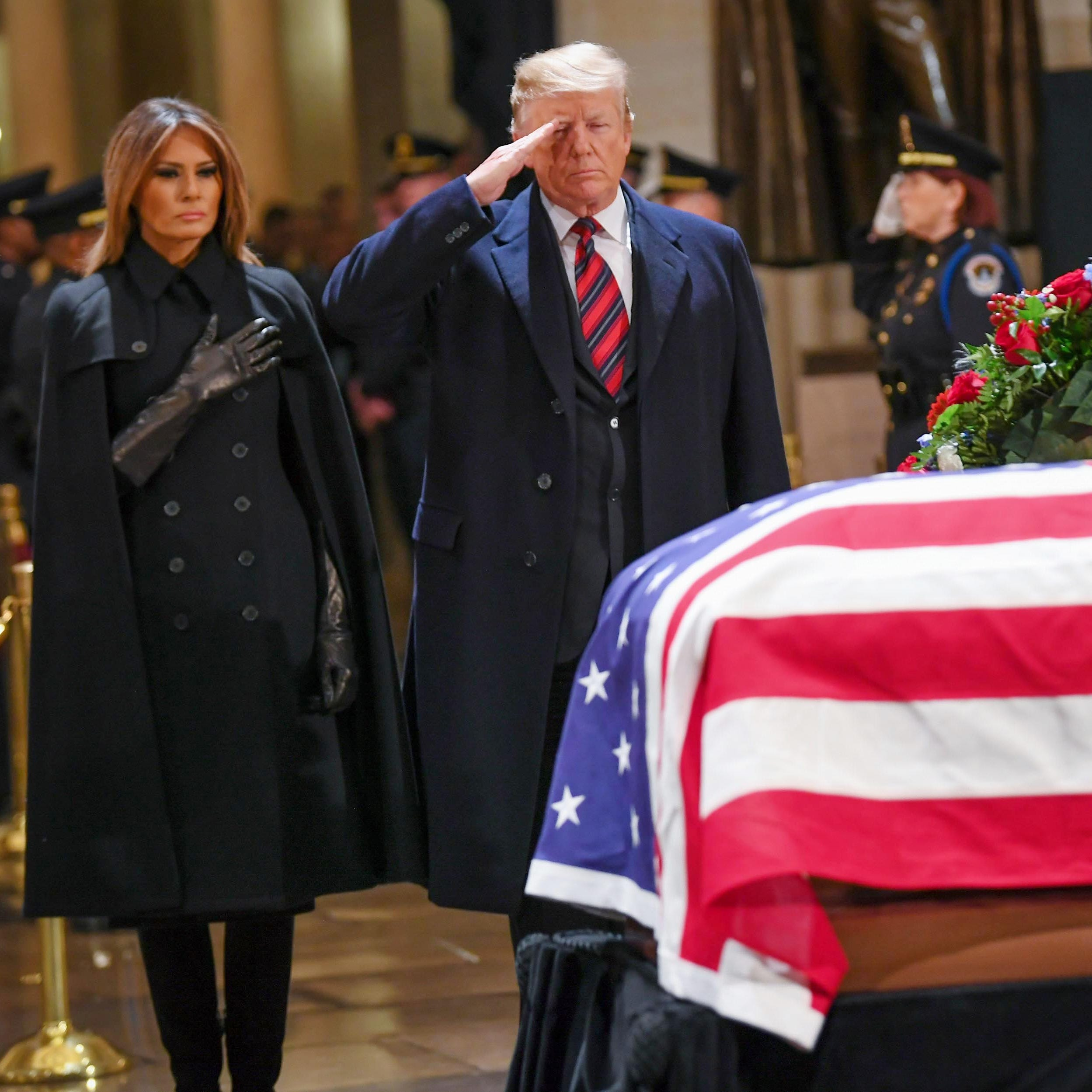 Live stream: Former President George H.W. Bush's state funeral