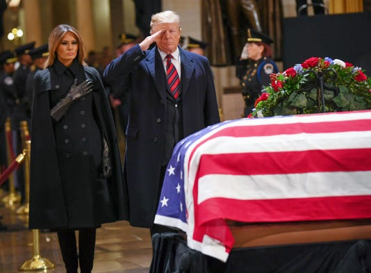 George H W Bush Funeral Live Watch The National Cathedral Service
