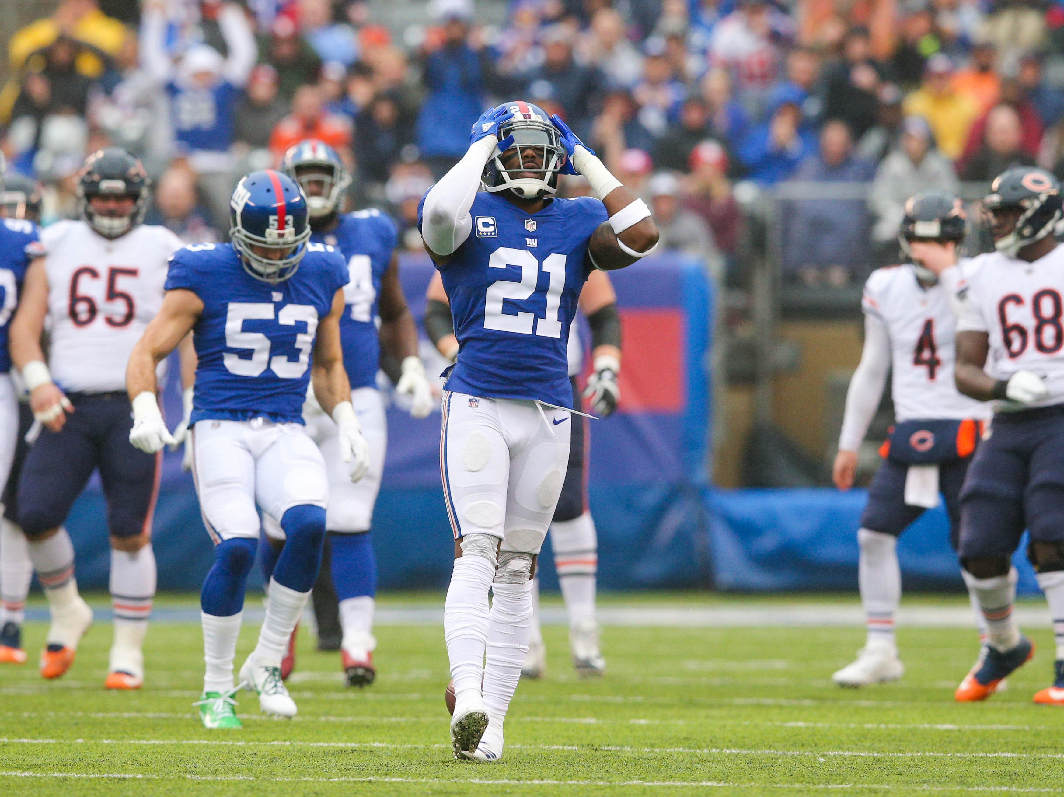 Landon Collins, S, New York Giants (shoulder injury, out for season)