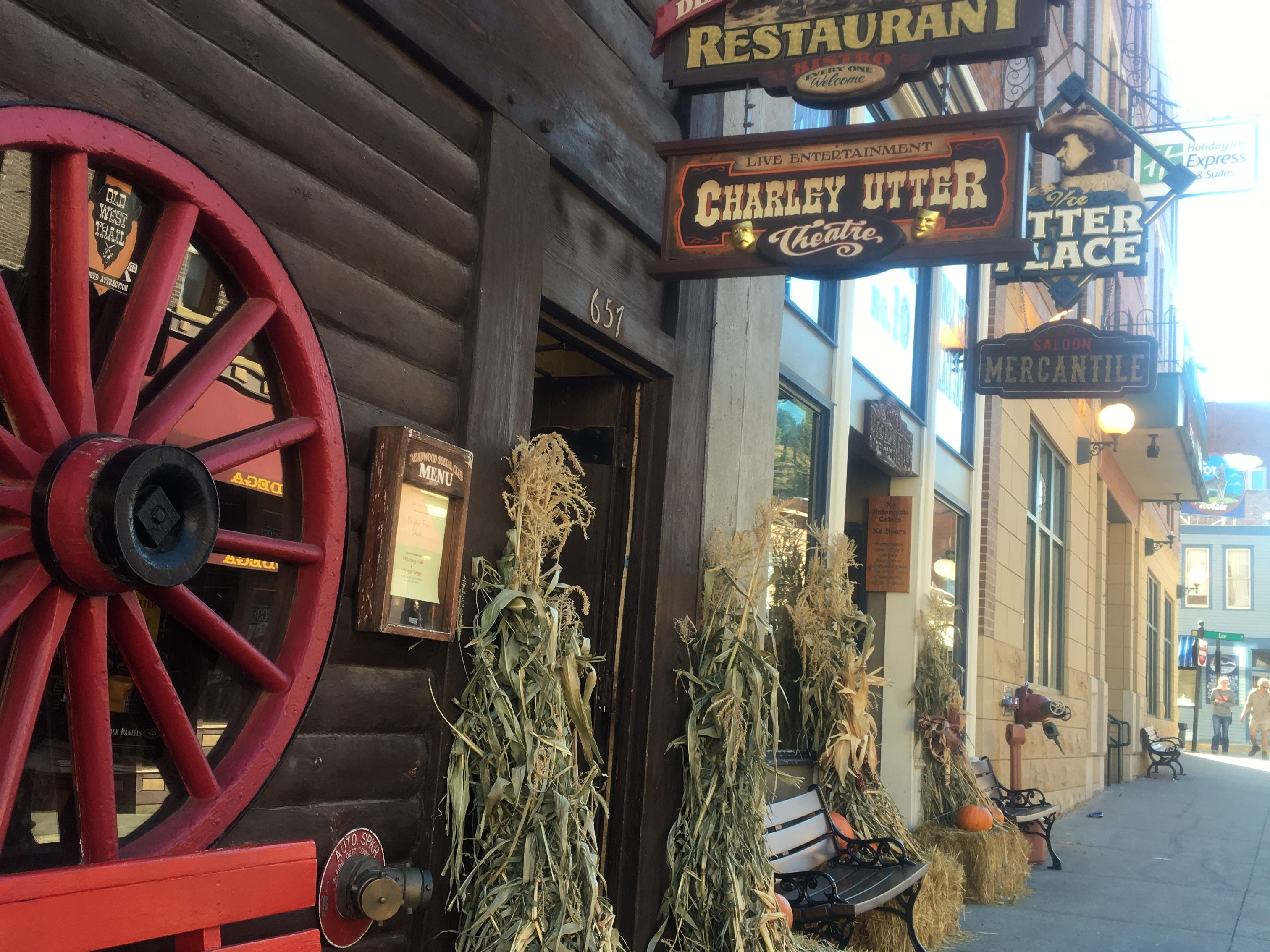 Deadwood, home of gunslingers, rowdy saloons and brothels.