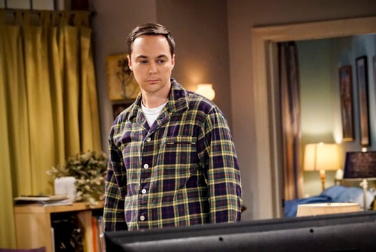 Sheldon (Jim Parsons) looks to the person he trusts the most, a younger version of himself, in an episode of 'The Big Bang Theory' that features an appearance by Iain Armitage of 'Young Sheldon.'