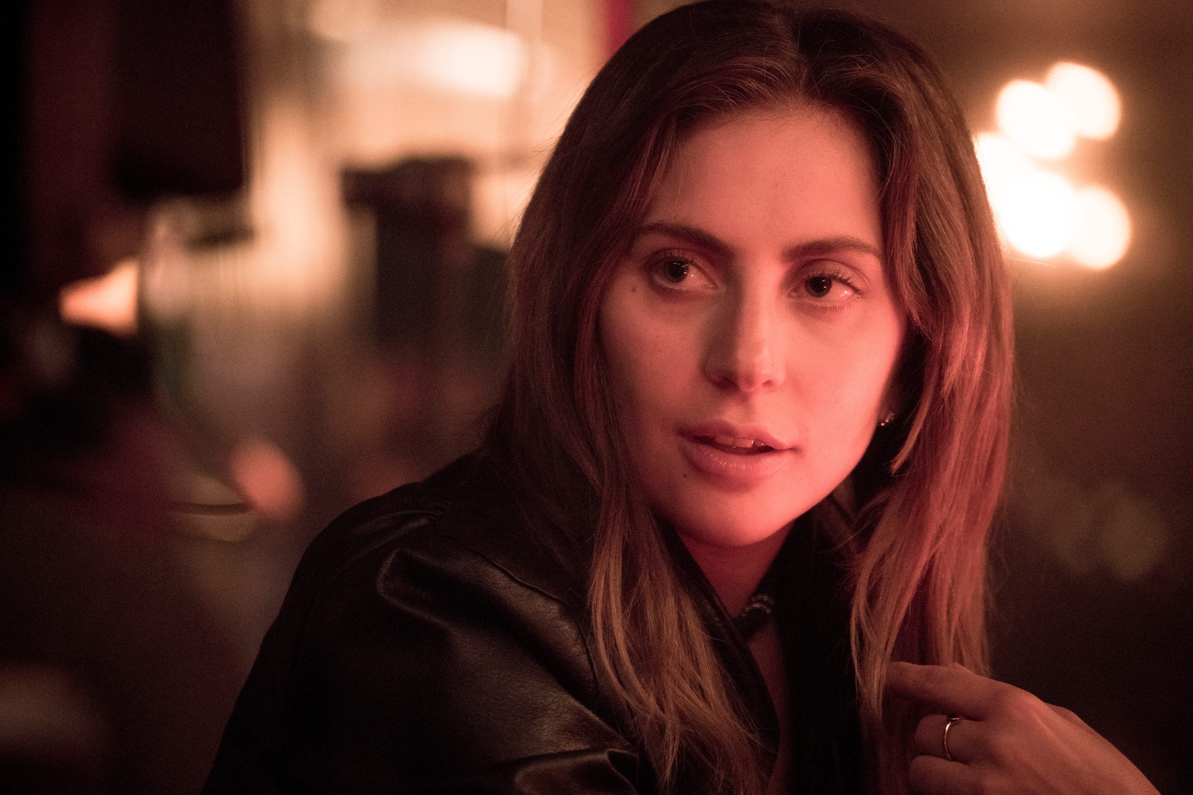 """Lady Gaga in a scene from the latest reboot of the film, """"A Star is Born."""" The National Board of Review has named the feel-good road-trip drama """"Green Book"""" the best film of the year, and its star, Viggo Mortensen, best actor. """"A Star Is Born"""" also took several top awards, including best director for Bradley Cooper, best actress for Lady Gaga and best supporting actor for Sam Elliott."""