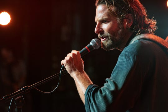 "BRADLEY COOPER as Jack in the drama ""A STAR IS BORN,"" from Warner Bros. Pictures, in association with Live Nation Productions and Metro Goldwyn Mayer Pictures, a Warner Bros. Pictures release."