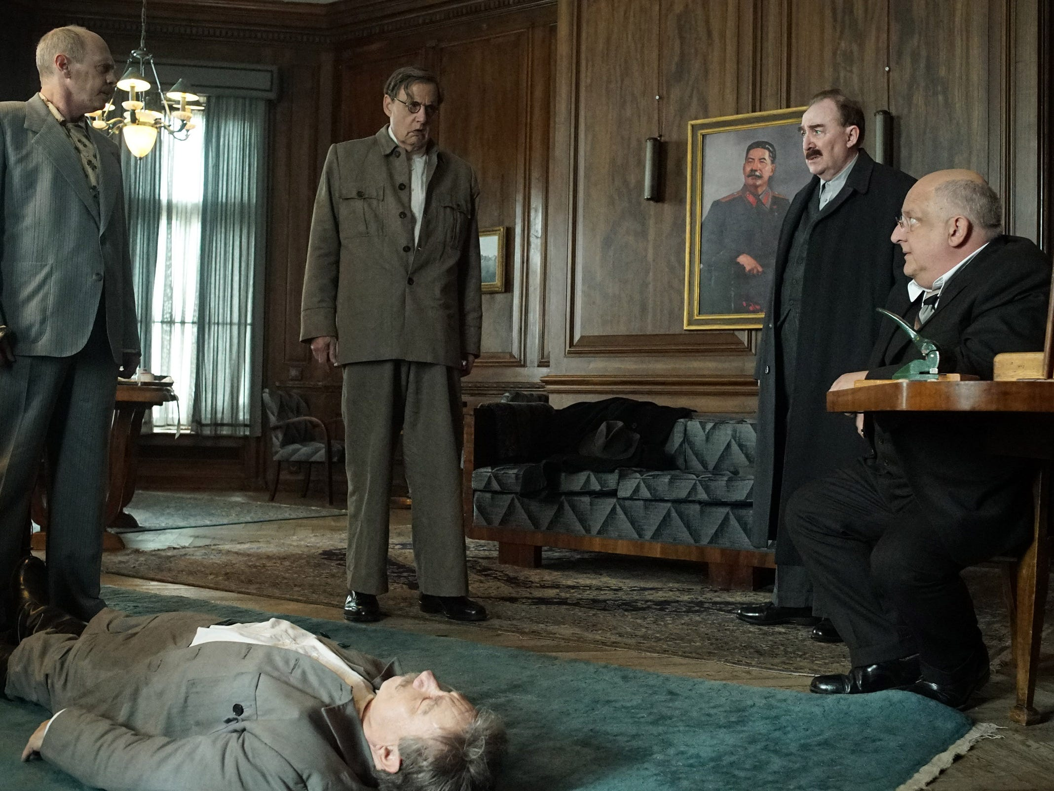 "5) ""The Death of Stalin""—Irmando Iannucci's funny and frightening look at the aftermath of the death of the Russian dictator is a near perfect black comedy. If George Orwell wrote ""1984"" as a comedy, the result would be something like this brilliant film. (Now streaming)"
