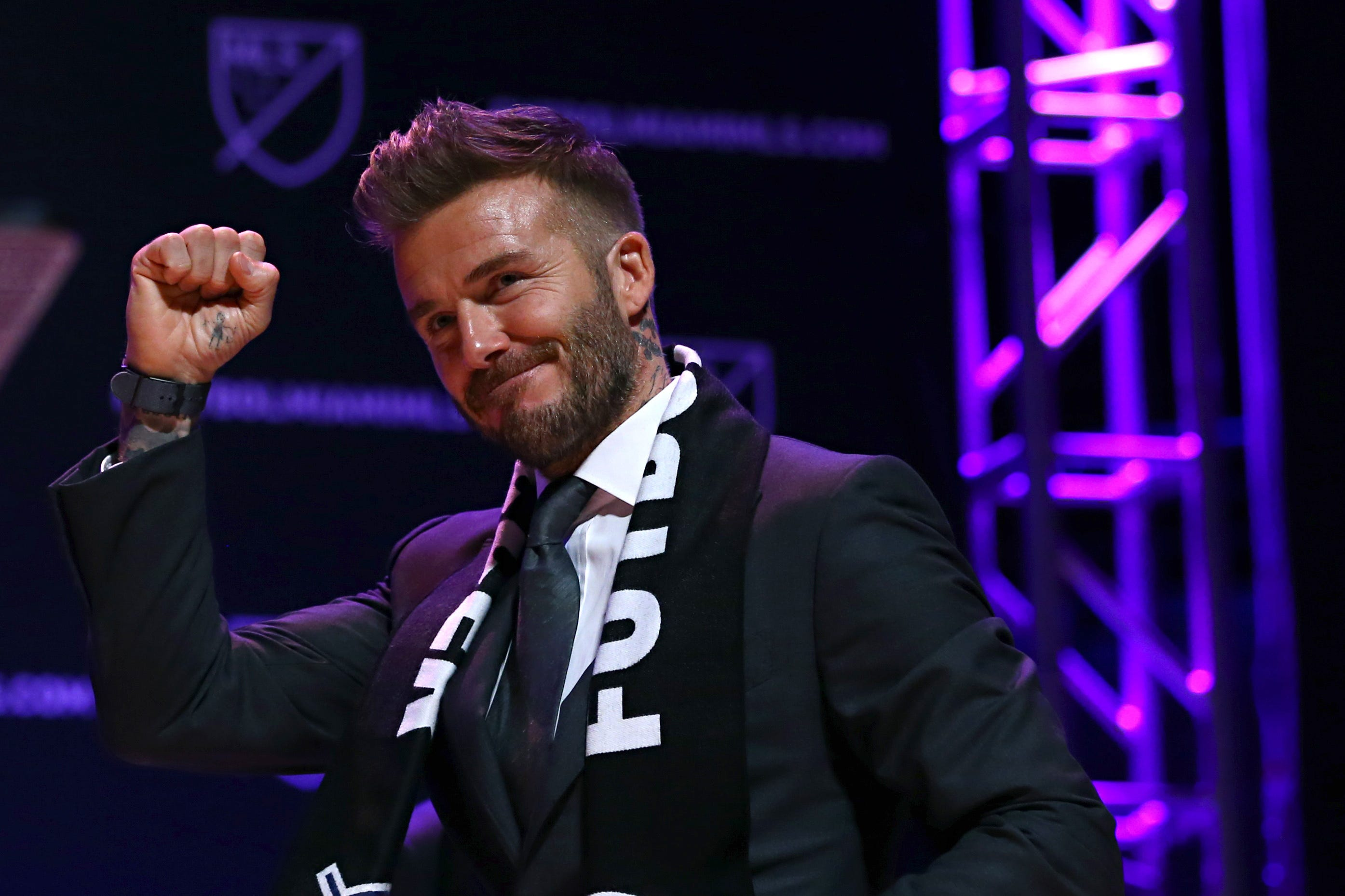 David Beckham attempts to convince Neymar to sign with Inter Miami CF