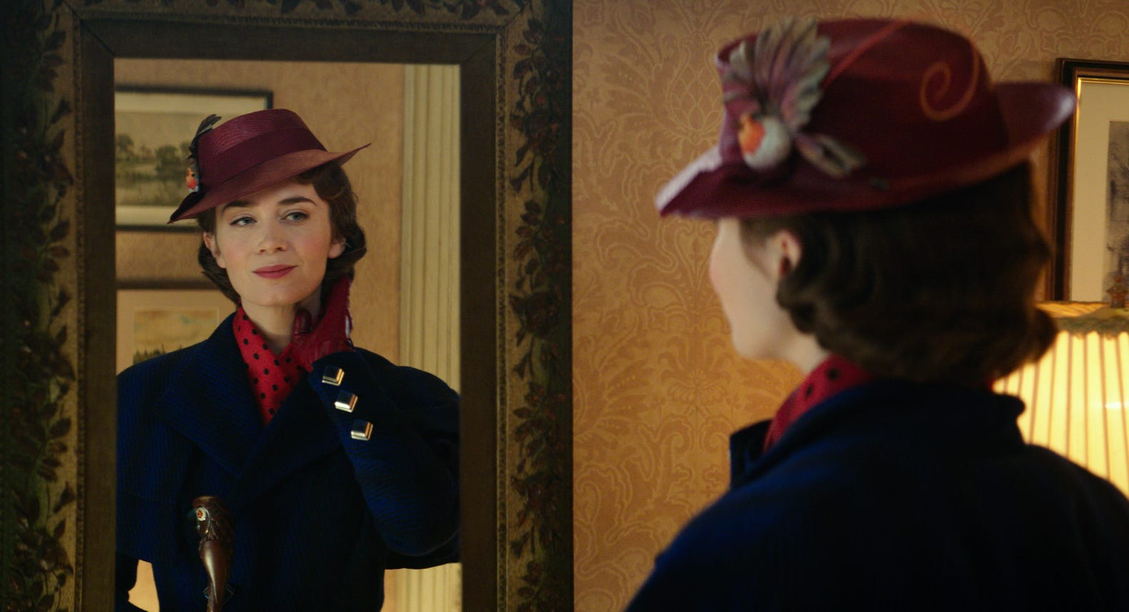 Emily Blunt's Mary Poppins is still practically perfect in every way.