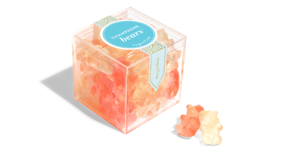 Champagne gummy bears (Photo: Sugarfina)