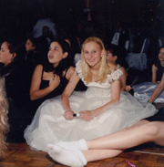 Lauren Book, age 13, in Aventura, Florida, in the spring of 1997.