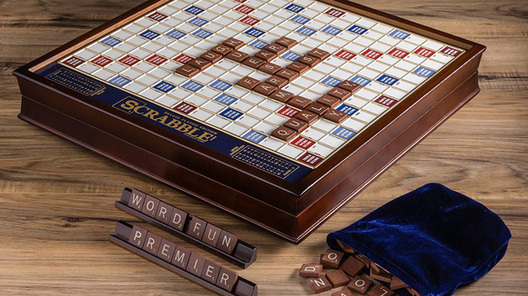 Deluxe Scrabble board (Photo: Winning Solutions)