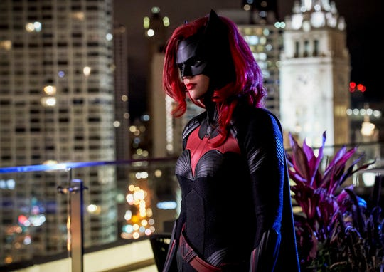 "Ruby Rose makes her debut as Batwoman as part of the CW's ""Elseworlds"" crossover."