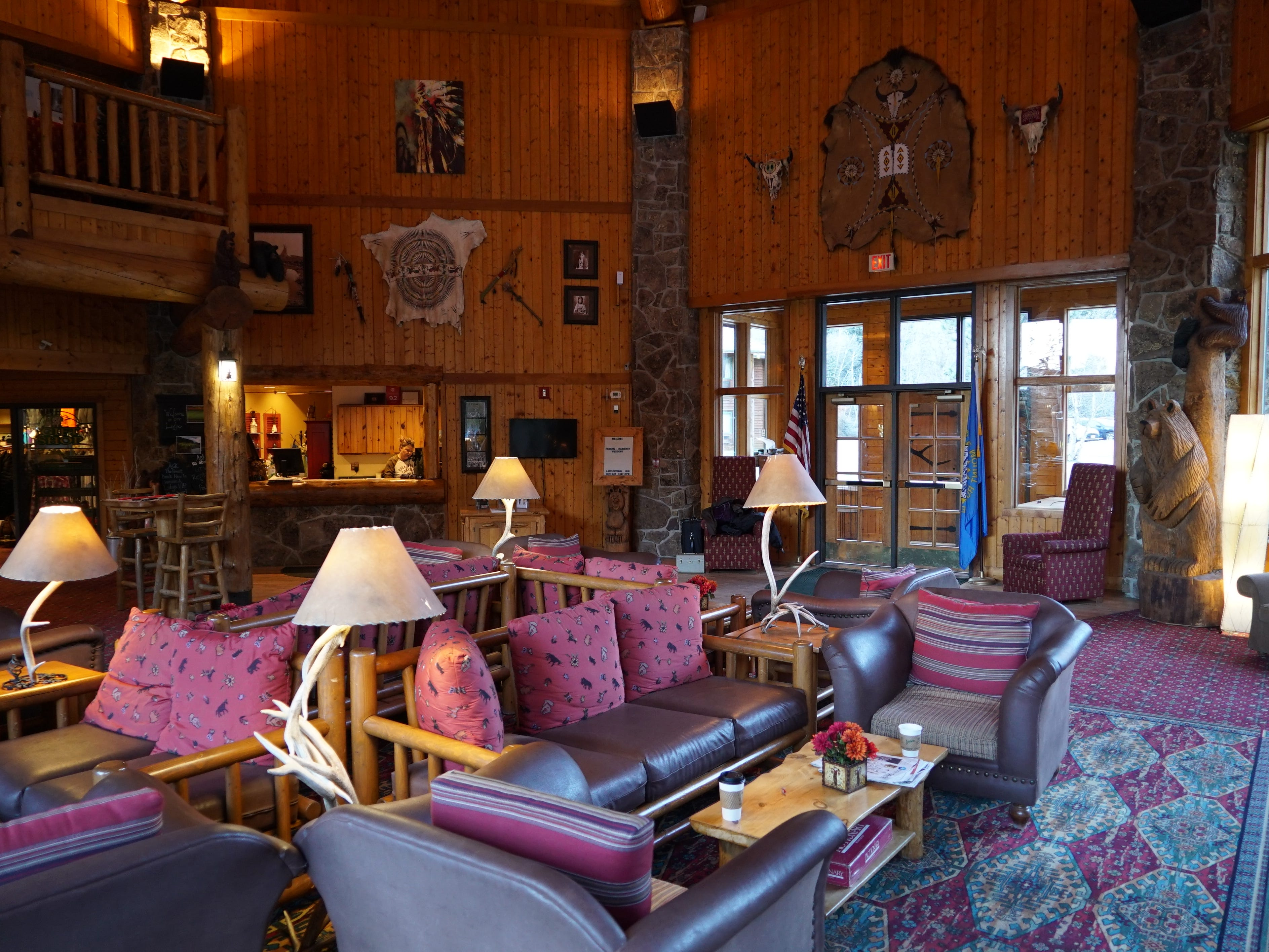 Spearfish Canyon Lodge in Black Hills National Forest.