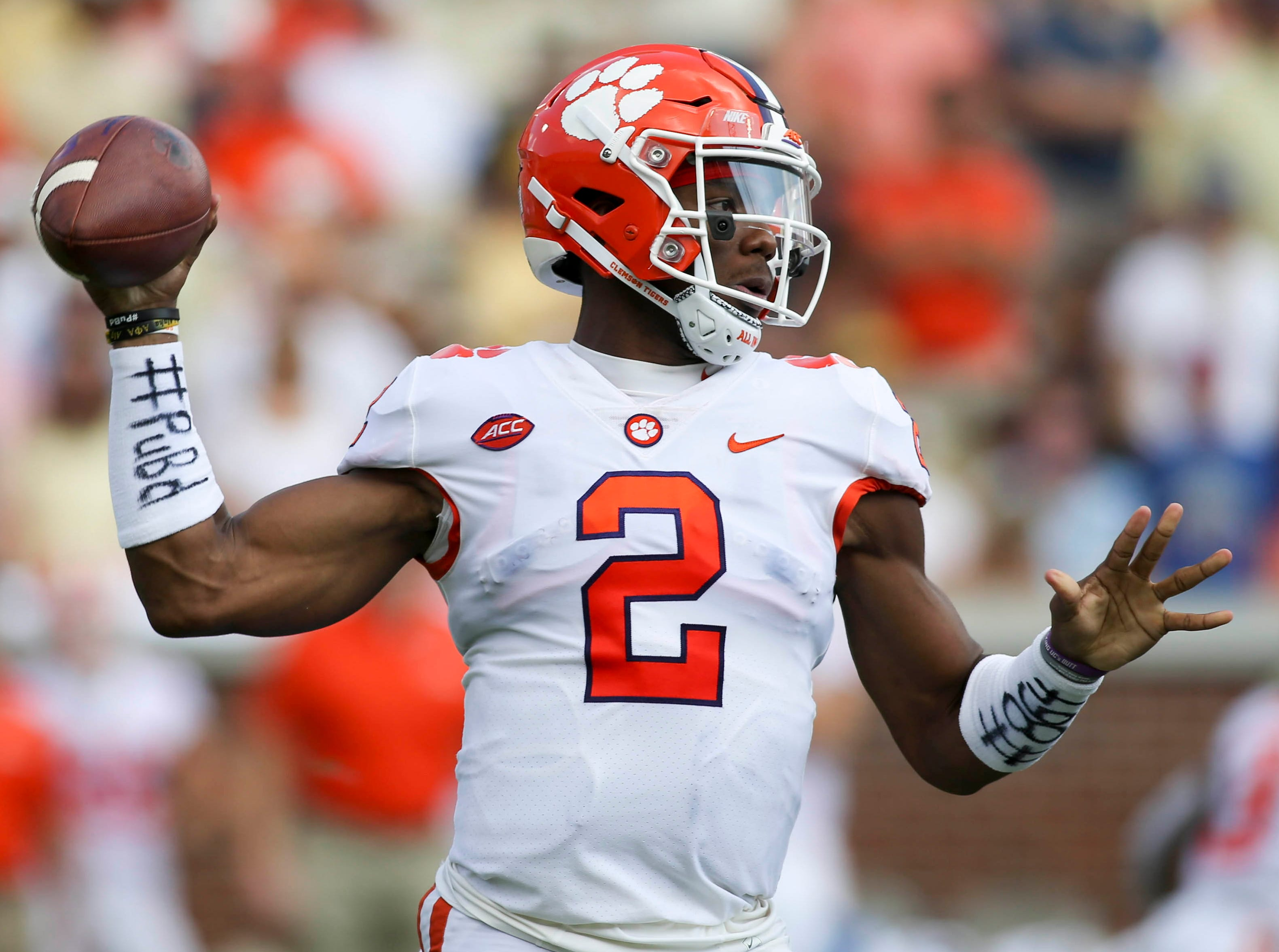 Kelly Bryant appeared in 29 games for Clemson from 2015-18.
