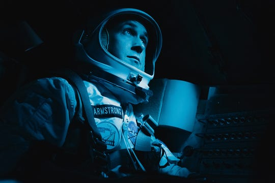 "Ryan Gosling wasn't nominated for his portrayal of astronaut Neil Armstrong in ""First Man."""