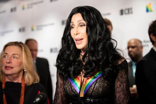 Cher, seen at the Kennedy Center Honors in 2018.
