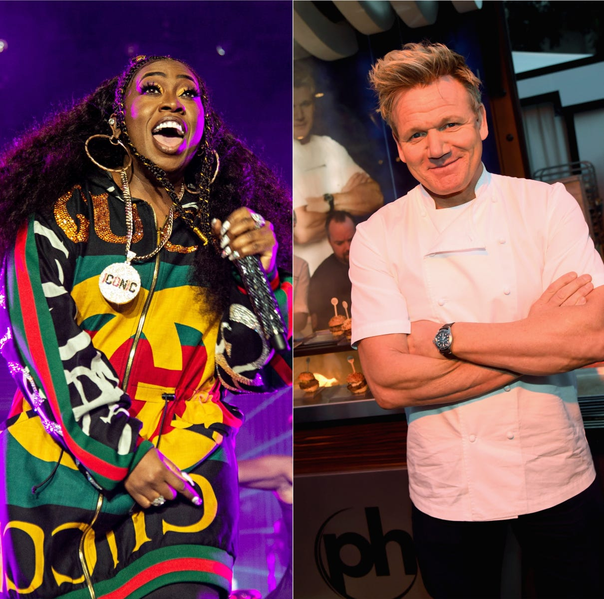 Missy Elliot, Gordon Ramsay and Kelly Clarkson all shared their fitness journeys in 2018.