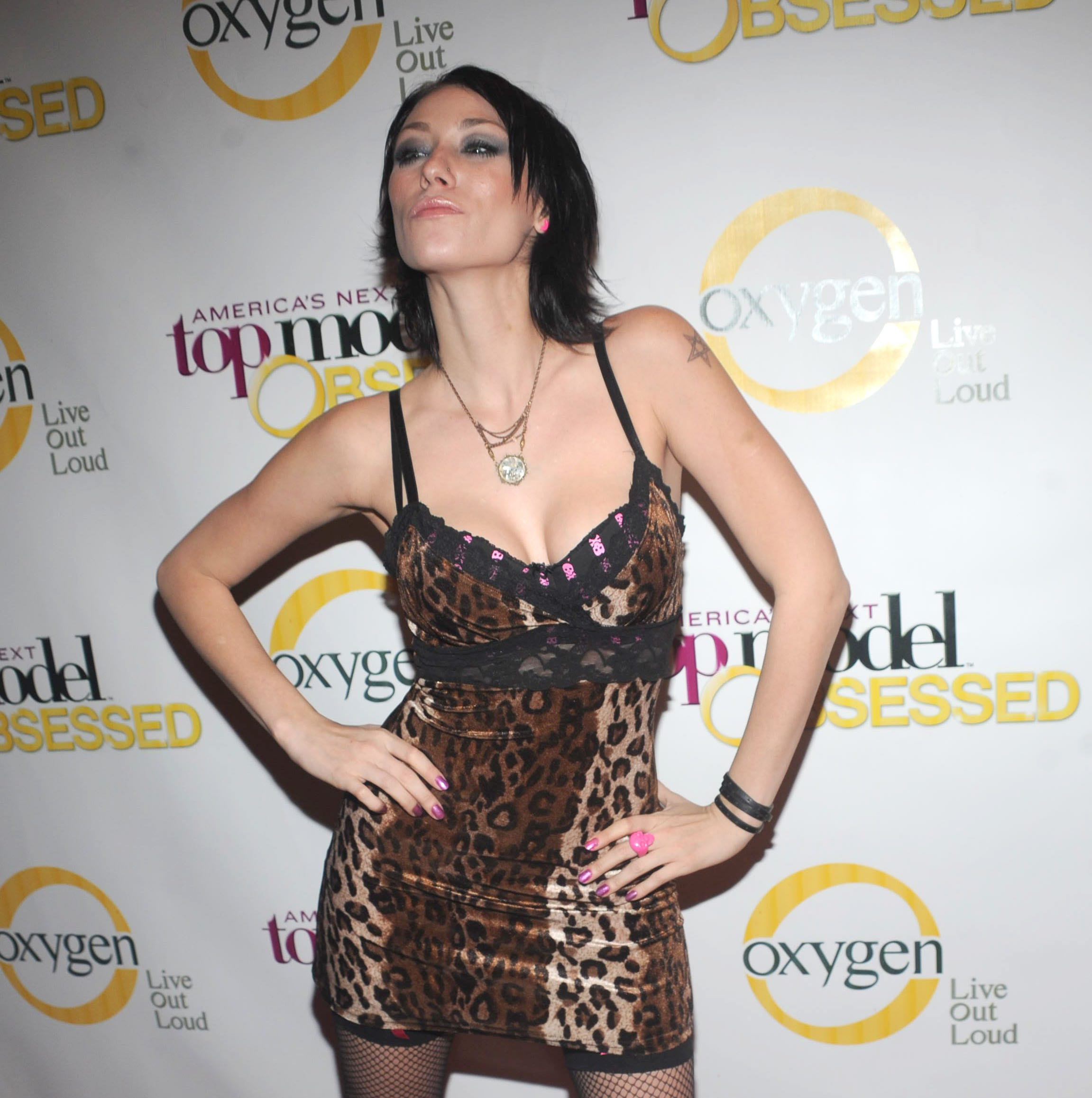 "Jael Strauss attends the launch party for ""America's Next Top Model"" at Gotham Hall on January 12, 2009 in New York City."