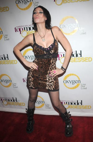 """Jael Strauss attends the launch party for """"America's Next Top Model"""" at Gotham Hall on January 12, 2009 in New York City."""