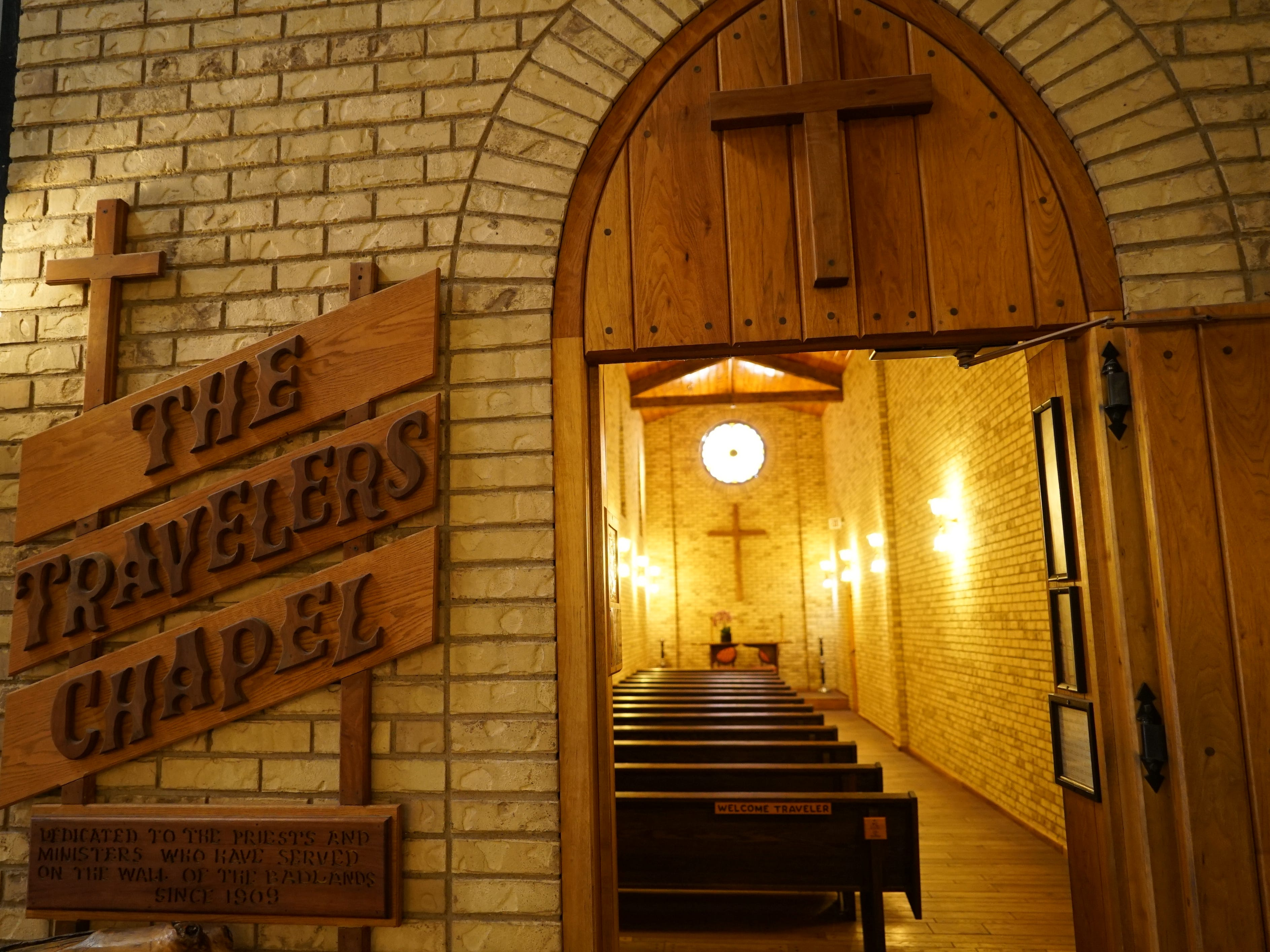 Wall Drug's 70,000 square feet even includes a traveler's chapel.