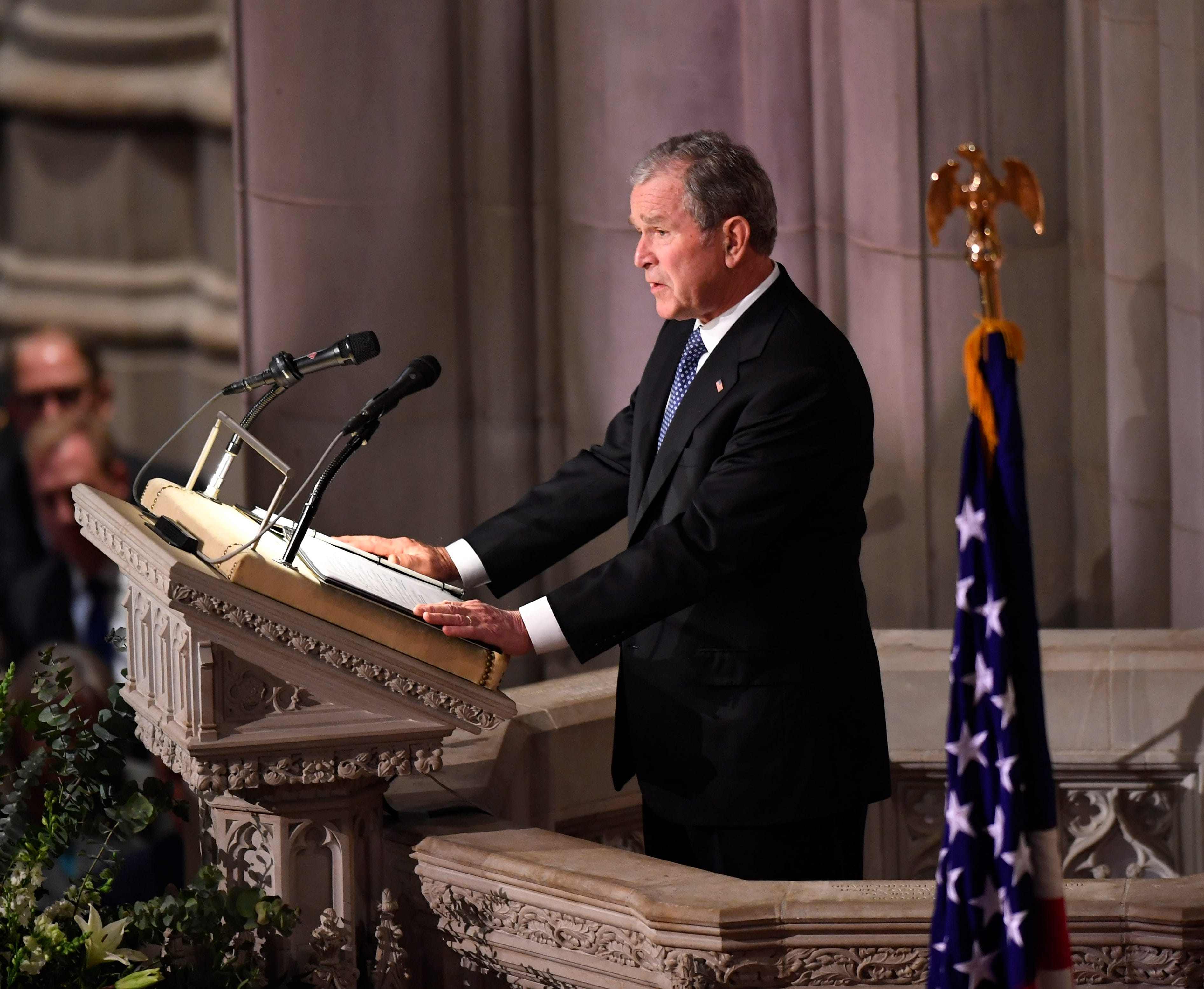 George H W Bush Funeral America S Last Great Soldier Statesman