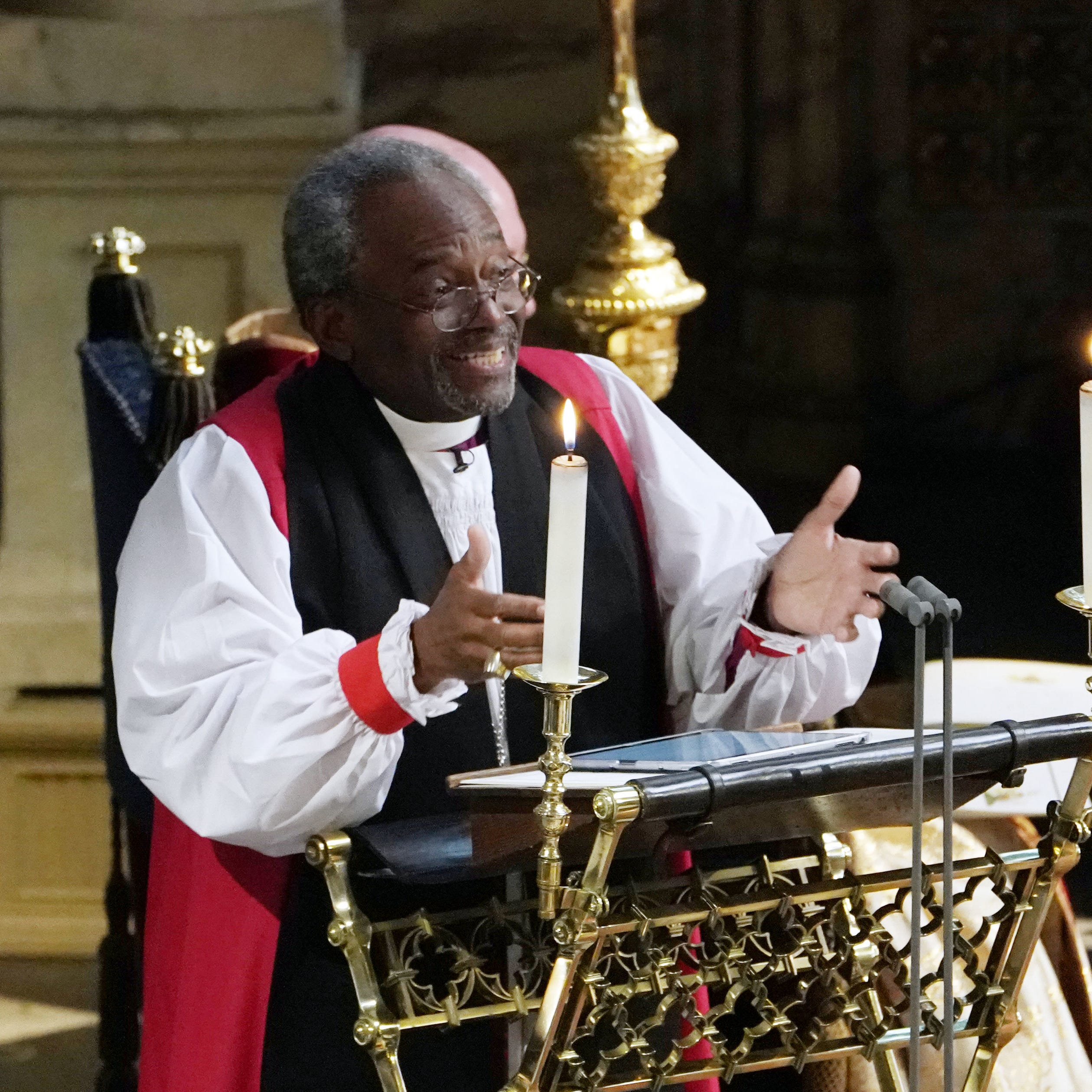 He wowed viewers at Meghan Markle's royal wedding. This week, Bishop Michael Curry visits Memphis