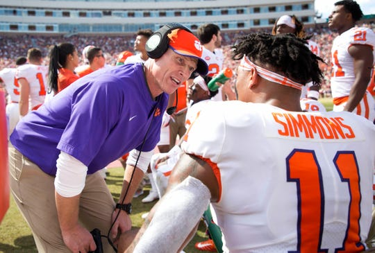 Clemson defensive coordinator Brent Venables will make $2.2 million this year.