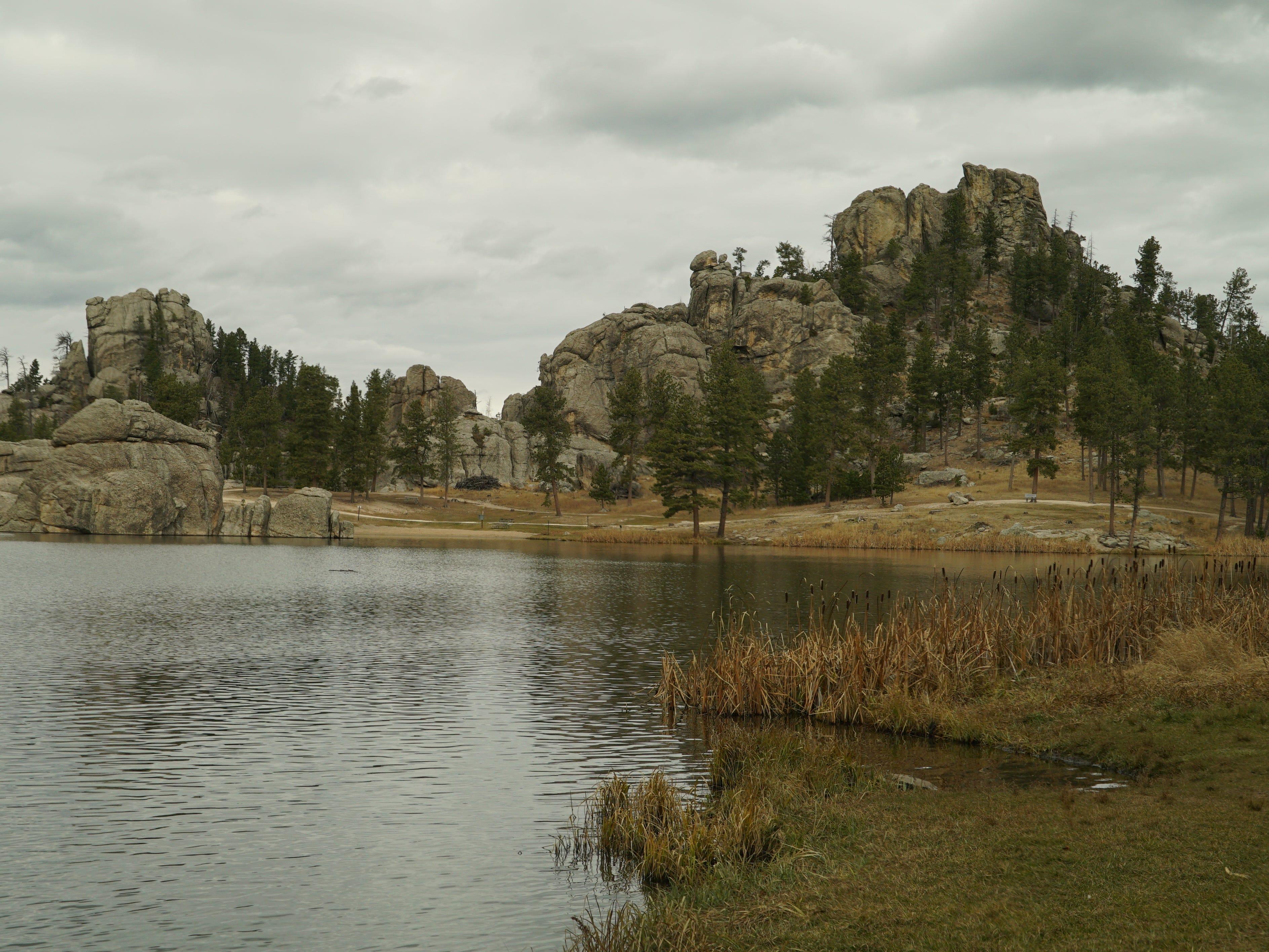 Pristine Sylvan Lake.