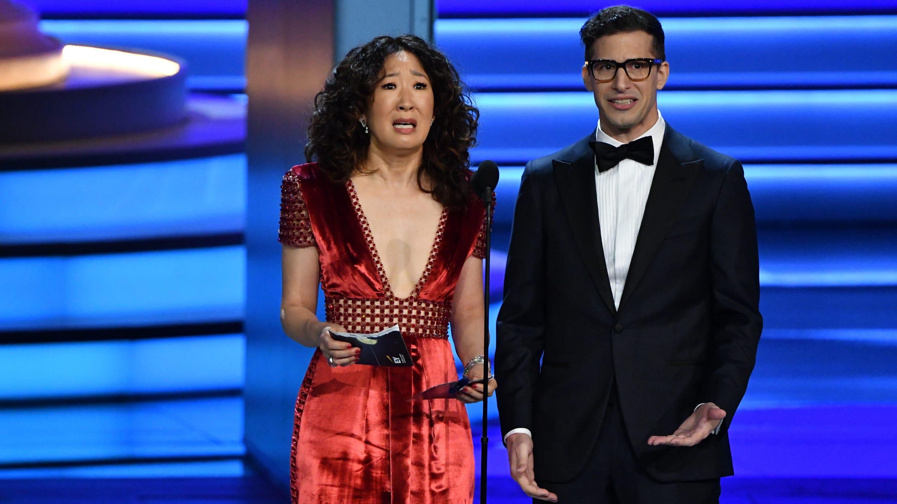 f9ea917f8e Golden Globes 2019  Sandra Oh