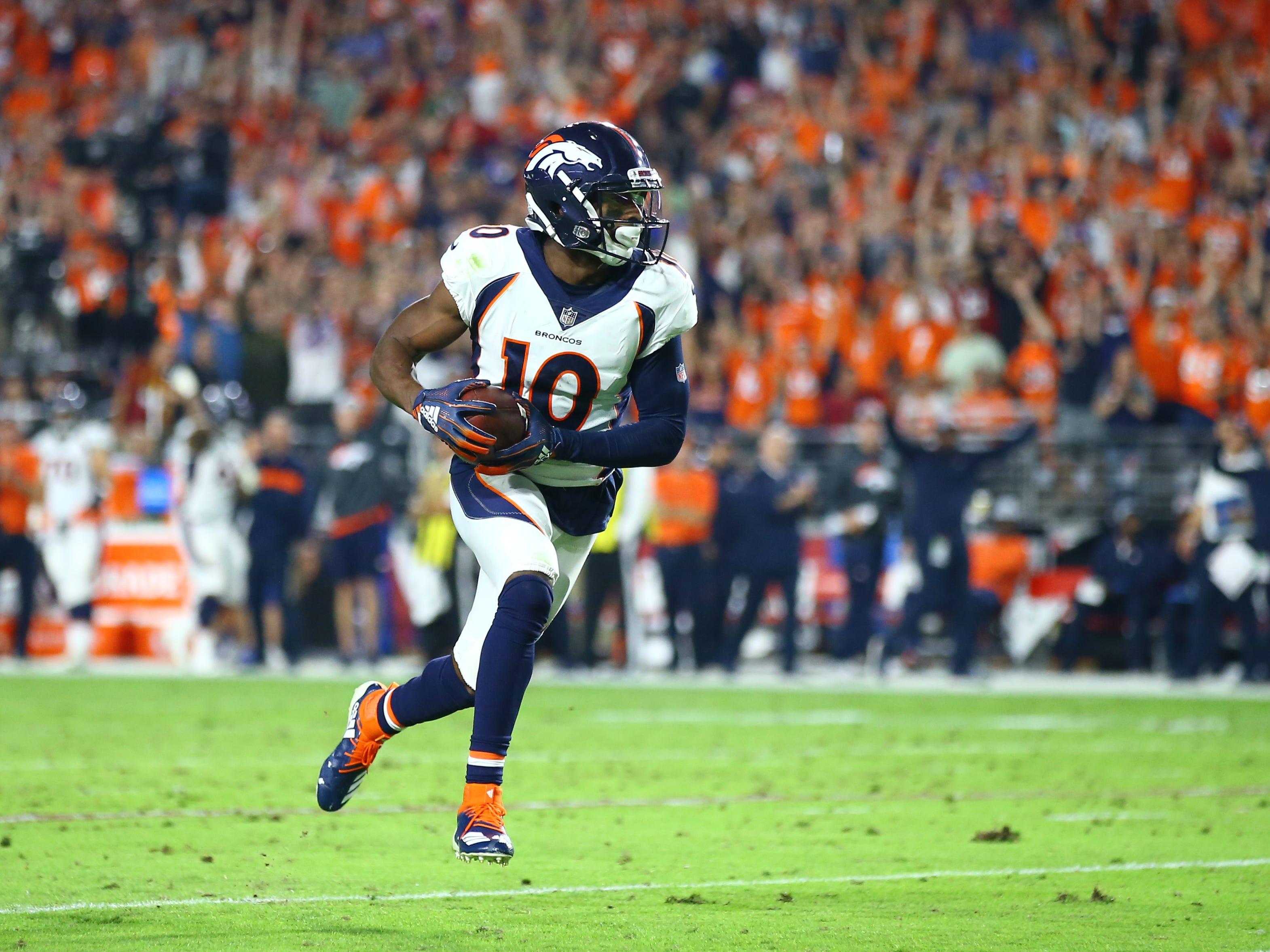 Emmanuel Sanders, WR, Denver Broncos (torn Achilles, out for season)
