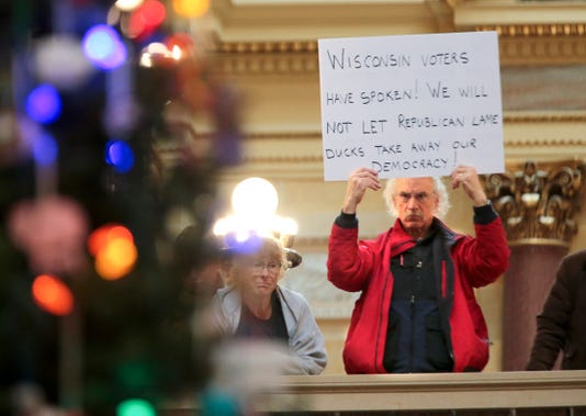 Ap Wisconsin Legislature Lame Duck A Usa Wi