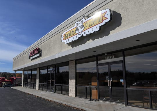 Stone oven pizza and other menu items at the newly opened Bandits Pizzeria at 4118 Clemson Boulevard in Anderson.