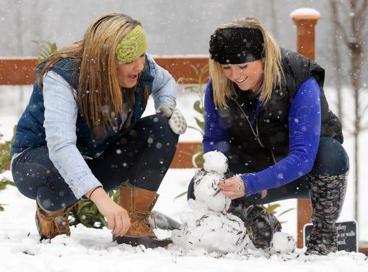 Memories Snow In Anderson Area