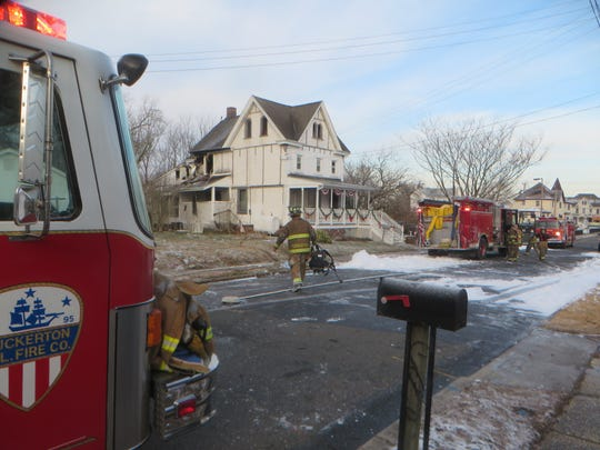 A 140-year-old Tuckerton home after firefighters put out an early morning electrical fire.