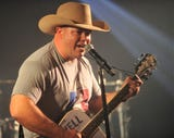 Former Cooper football coach Todd Moebes sang at a charity event on Tuesday, Dec. 4, 2018, in Abilene.