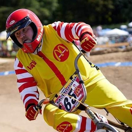 Meet Ronald McDonald, Battle Creek's 55-year-old BMX racer