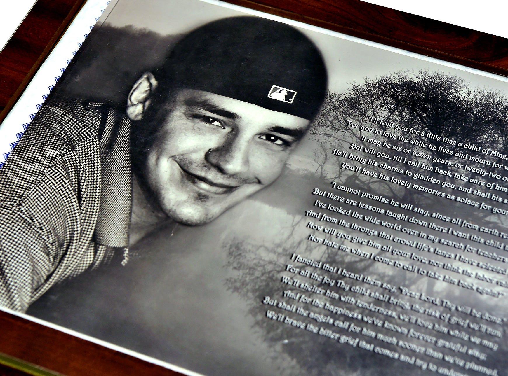Binghamton resident Aaron DeRigo died of an overdose in January 2014.  December 4, 2018.