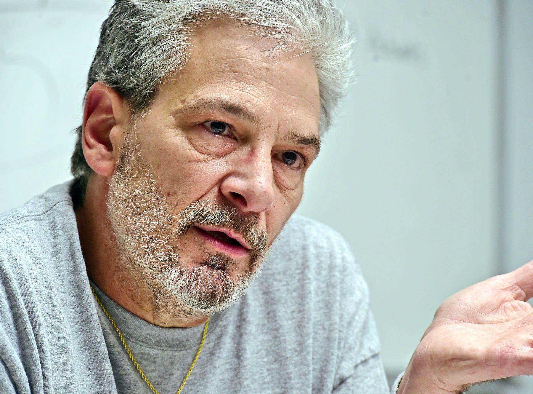 Ralph DeRigo of Binghamton discusses his late son Aaron  DeRigo, who died of an overdose in January 2014.  December 4, 2018.
