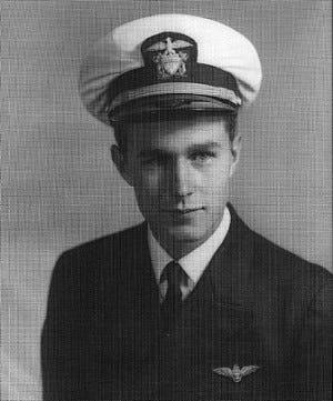 WASHINGTON (Dec. 1, 2018) An undated  file photo of Navy pilot George H. W. Bush.