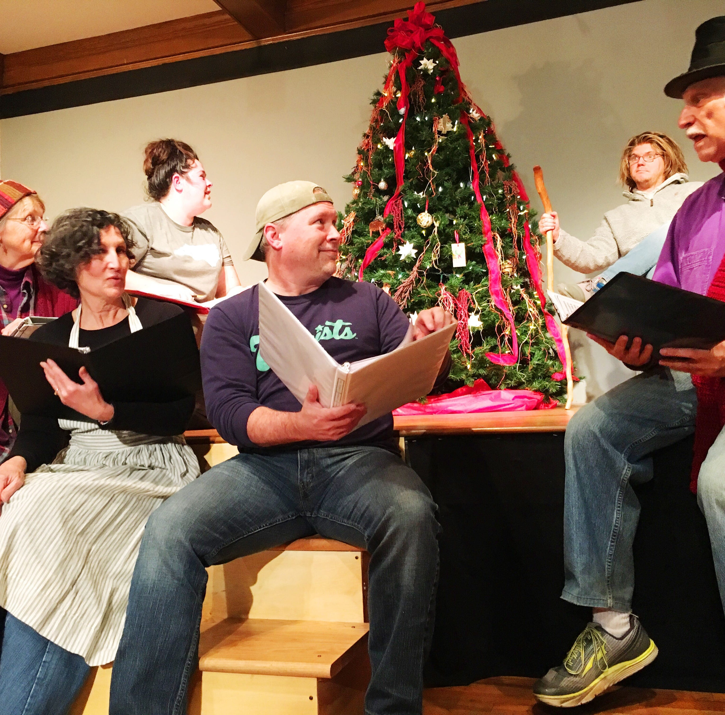 'A Christmas Pudding' at Black Mountain Center for the Arts