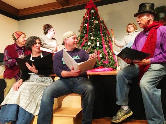 Christmas Pudding Rehearsal
