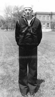 In this undated photo released by the Defense POW/MIA Accounting Agency is Navy Seaman 1st Class William G. Bruesewitz. More than 75 years after nearly 2,400 members of the U.S. military were killed in the Japanese attack at Pearl Harbor some who died on Dec. 7, 1941, are finally being laid to rest in cemeteries across the U.S. Bruesewitz, of Appleton, Wis., was killed on the USS Oklahoma and will be buried Friday, Dec. 7, 2018, in Arlington National Cemetery, near Washington, D.C. (Defense POW/MIA Accounting Agency via AP)
