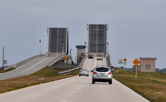 As soon as 2021, the aging drawbridge over the Indian River Lagoon that provides a critical link to Kennedy Space Center and Cape Canaveral could be unsafe for spacecraft and other heavy cargo to cross, a NASA engineering study has determined.