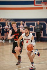 Galion's Isaiah Alsip leads the Tigers to a showdown with Madison at 4 p.m. on Saturday at Ontario High School in the 419 Challenge.