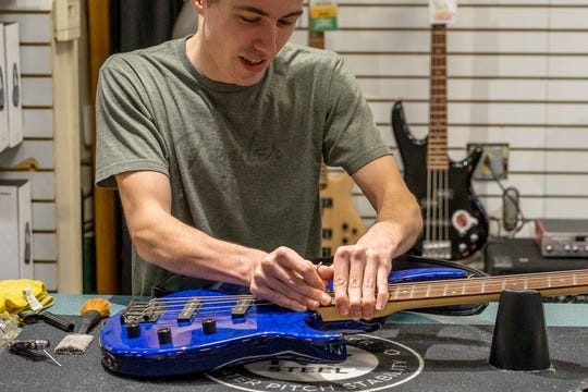 More than a store: Advance Music offers repairs, lessons, and a hub for local musicians.