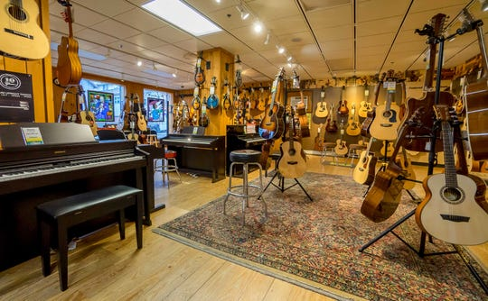 A local music store is the only place you can try instruments and get expert advice before buying.