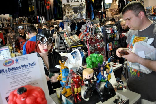 TexasToyz, a comic book and novelty toy shop in Corpus Christi, announced it will close on Jan. 27, 2019.