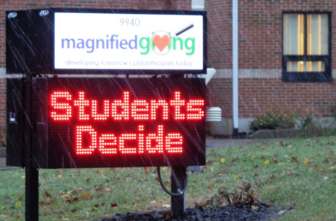 Magnified Giving is an organization that gives students money for a cause they choose to teach them philanthropy.
