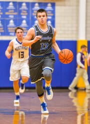 Wyoming's Joey Edmonds became the school's all-time leader in three-pointers with a trio of triples Friday night in a win over Mariemont that crowned the Cowboys CHL champs for the fifth time in six years.