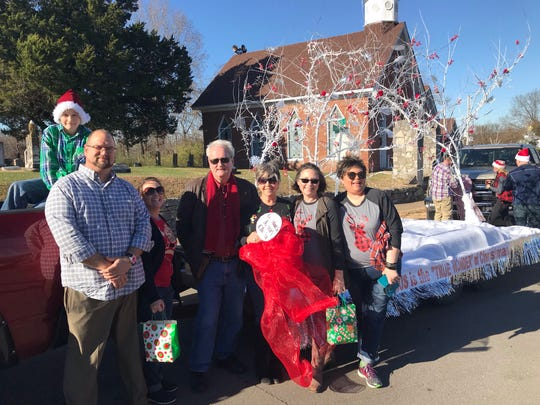 Dover First Baptist Church won the Cumberland City Mayor's Choice award for their float.
