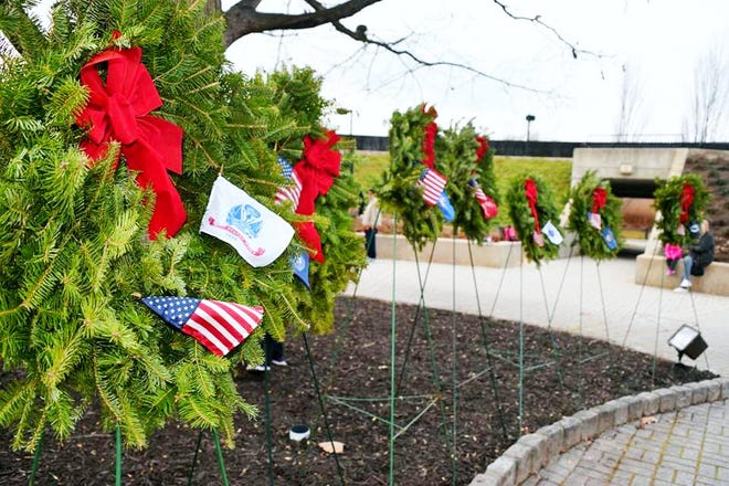 The yearly Wreaths Across America parade of trucks will make its' way to and hold a ceremony on Dec. 12 at 11:30 a.m. at the New Jersey Vietnam Veterans' Memorial in Holmdel, 1 Memorial Lane.