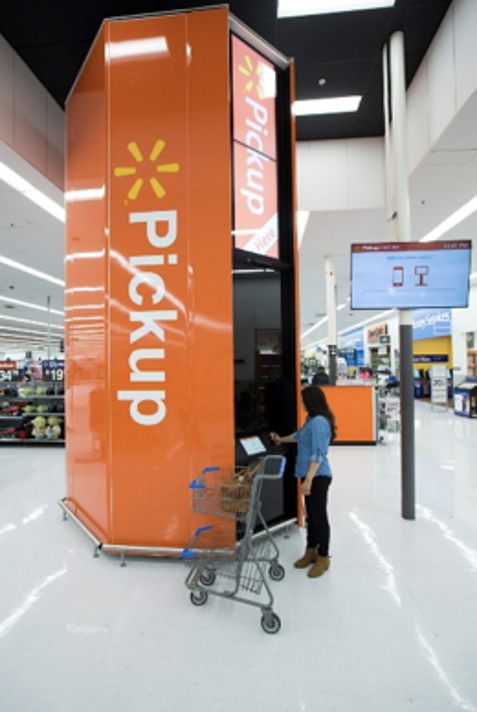West Des Moines Walmart adds pickup tower to store